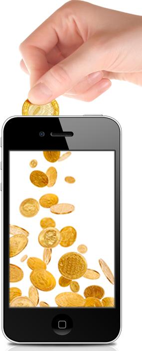 Мы щедрая компания и готовы дарить вам деньги на мобильный телефон. . Суть